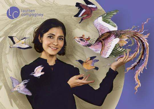 Konferenz der Vögel / Pegah Ferydoni - (c) Marcus Lieberenz / lautten compagney
