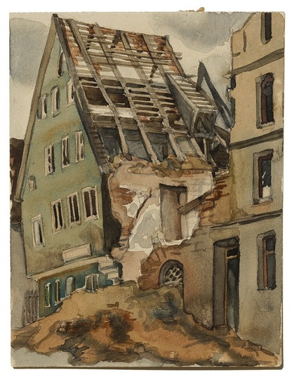 Hanna Forster, Kalchstraße 1945