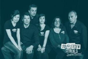 Ein Bild von der Improtheatergruppe Souffleusenstreik