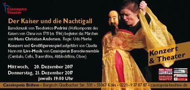 Konzert & Theater. Der Kaiser und die Nachtigall